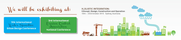 Citygreen at the 2015 NSW/WSUD/IECA Conference