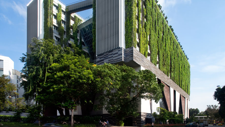 Singapore exceeds greening targets